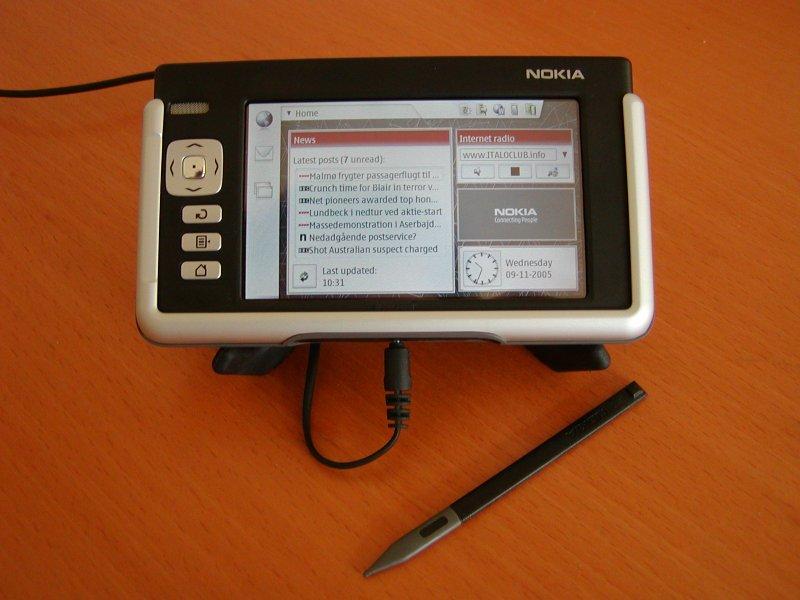 My Nokia 770