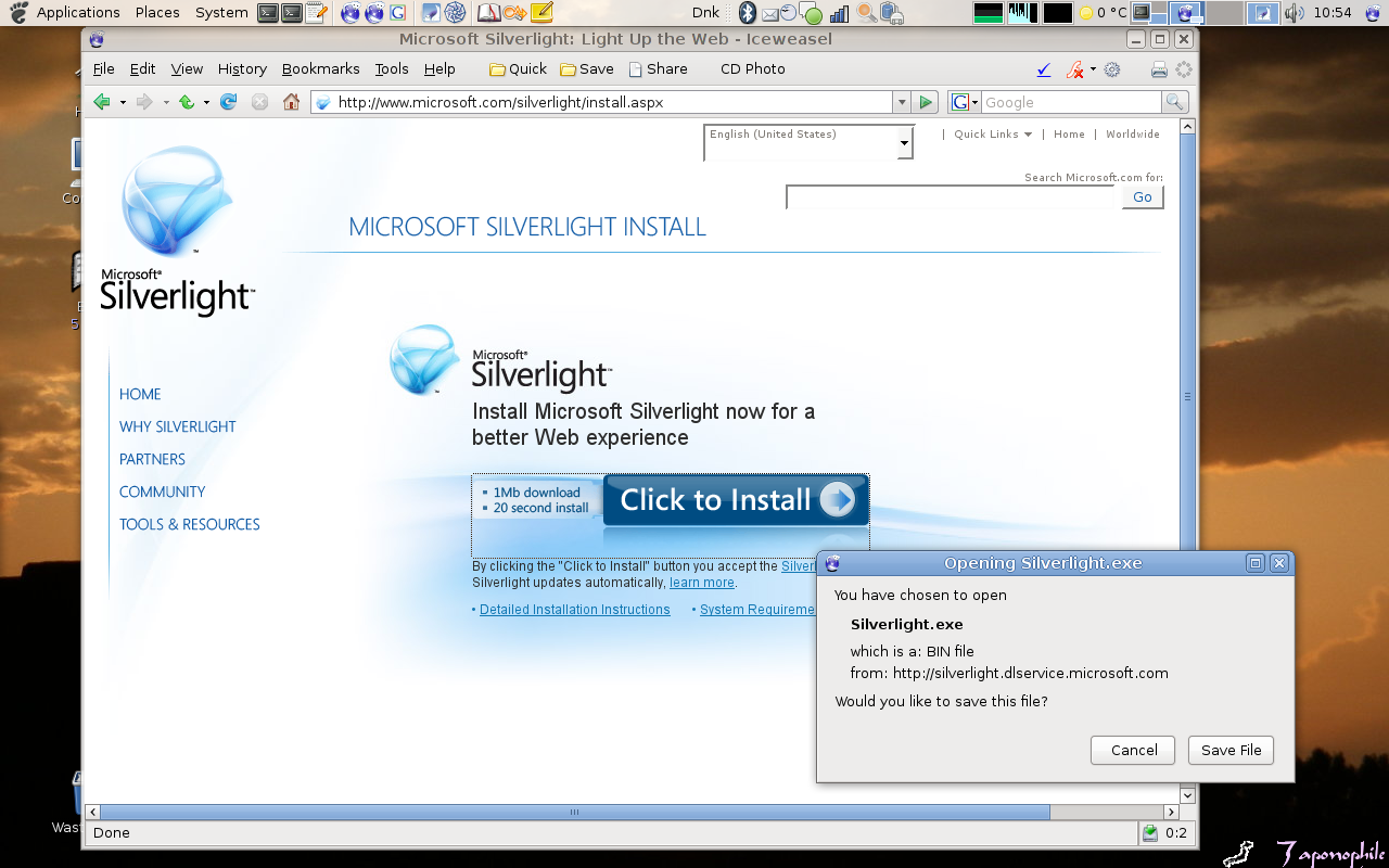Microsoft® SilverLight - René Seindal - Living in Venice