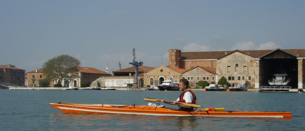 In the Arsenale of Venice