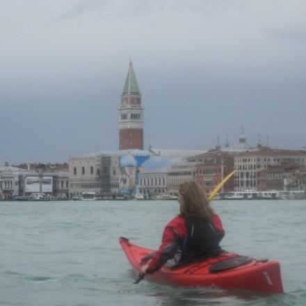 Acqua Alta - approaching S.Marco
