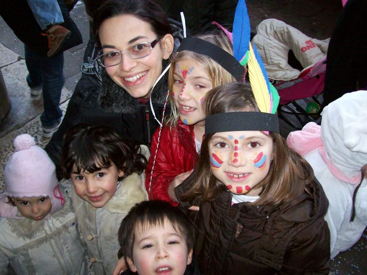 Mamma con bambini - 23 febbraio 2009 - Pescheria Rialto