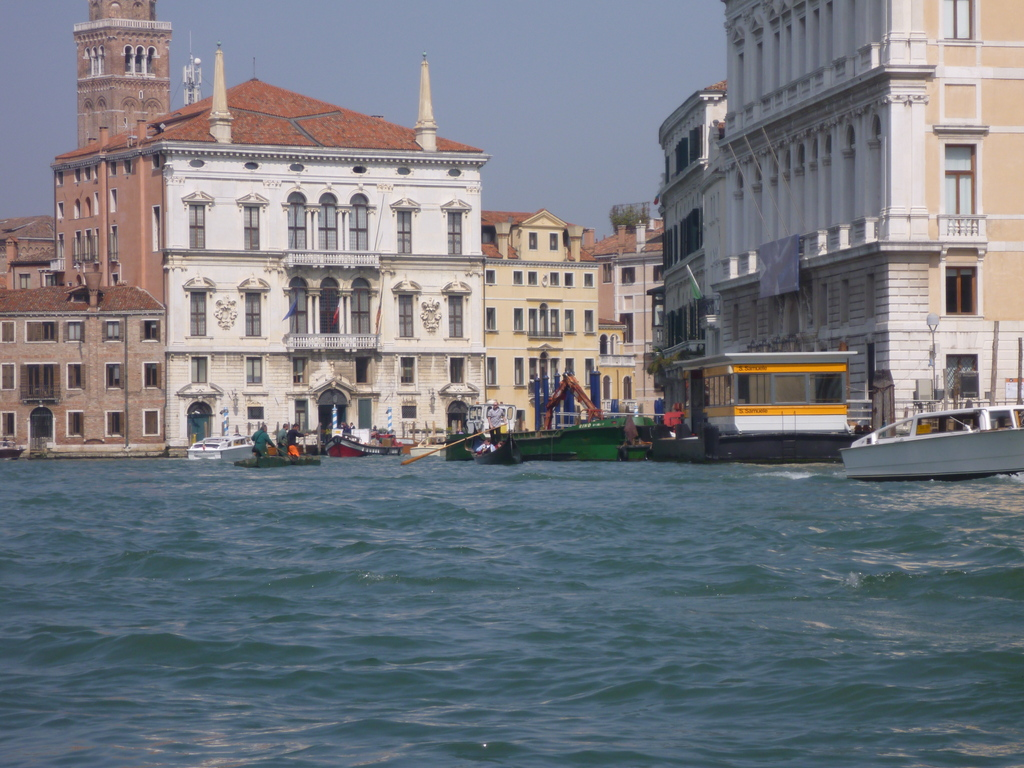 Traffic on the Canal Grande