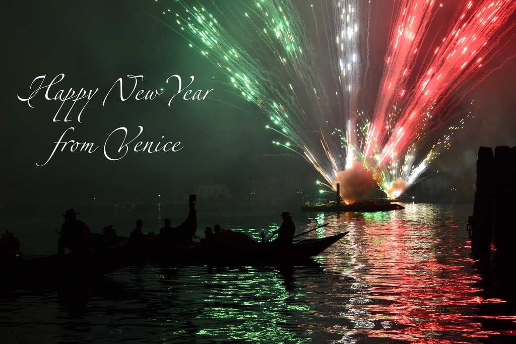 Happy New Year from Venice