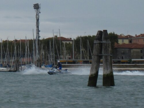 Jet ski are illegal in Venice