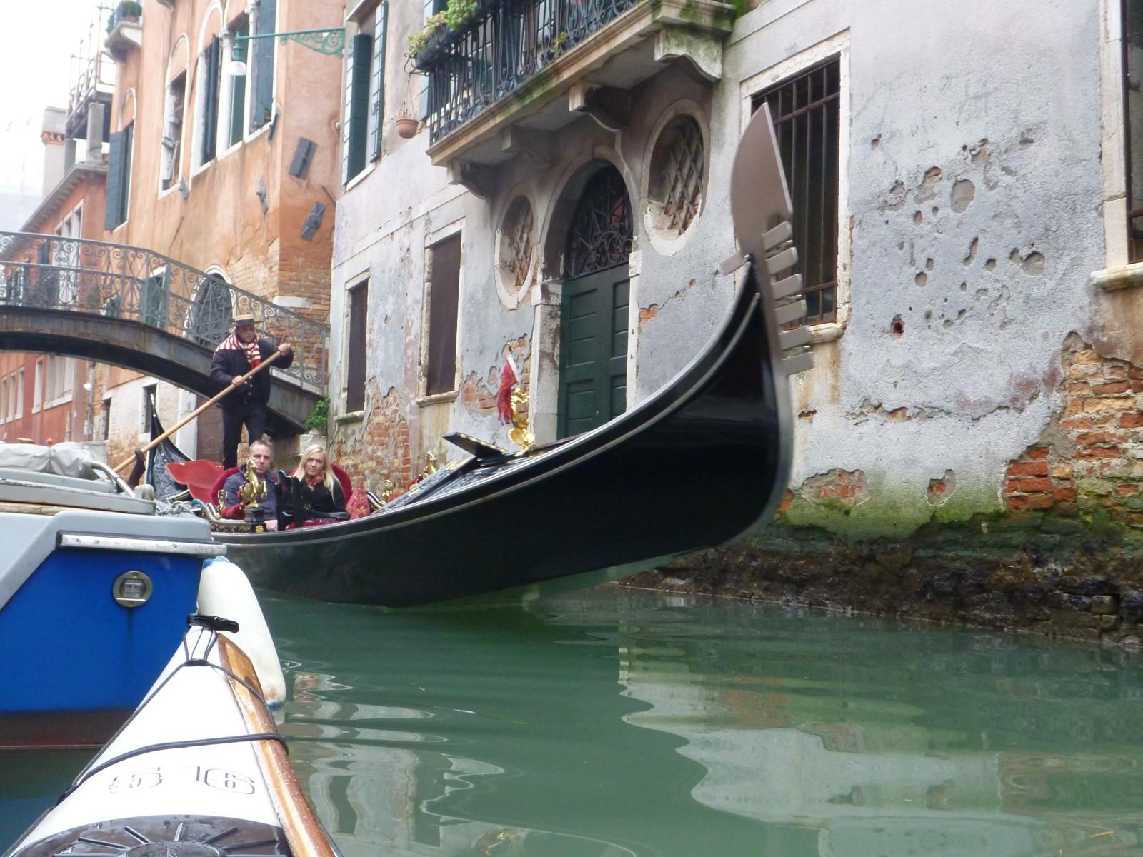 Gondola up close