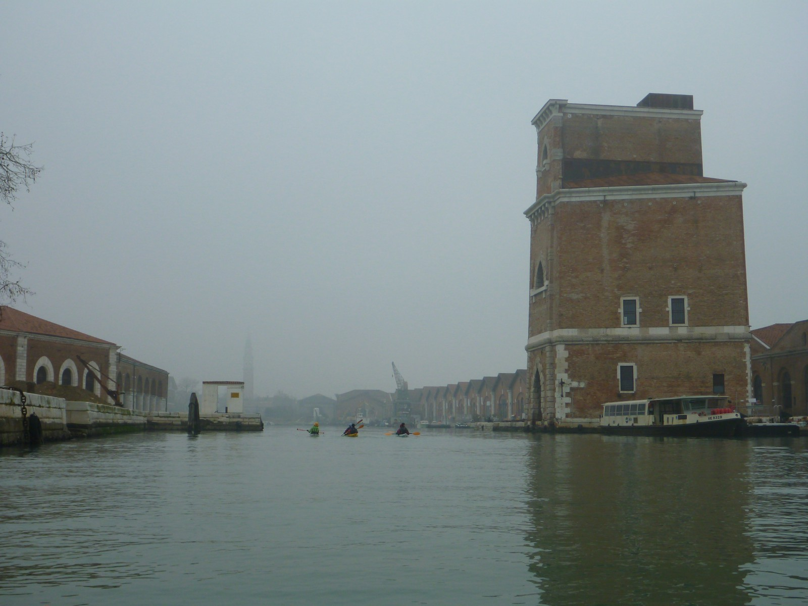 Entering the Arsenale