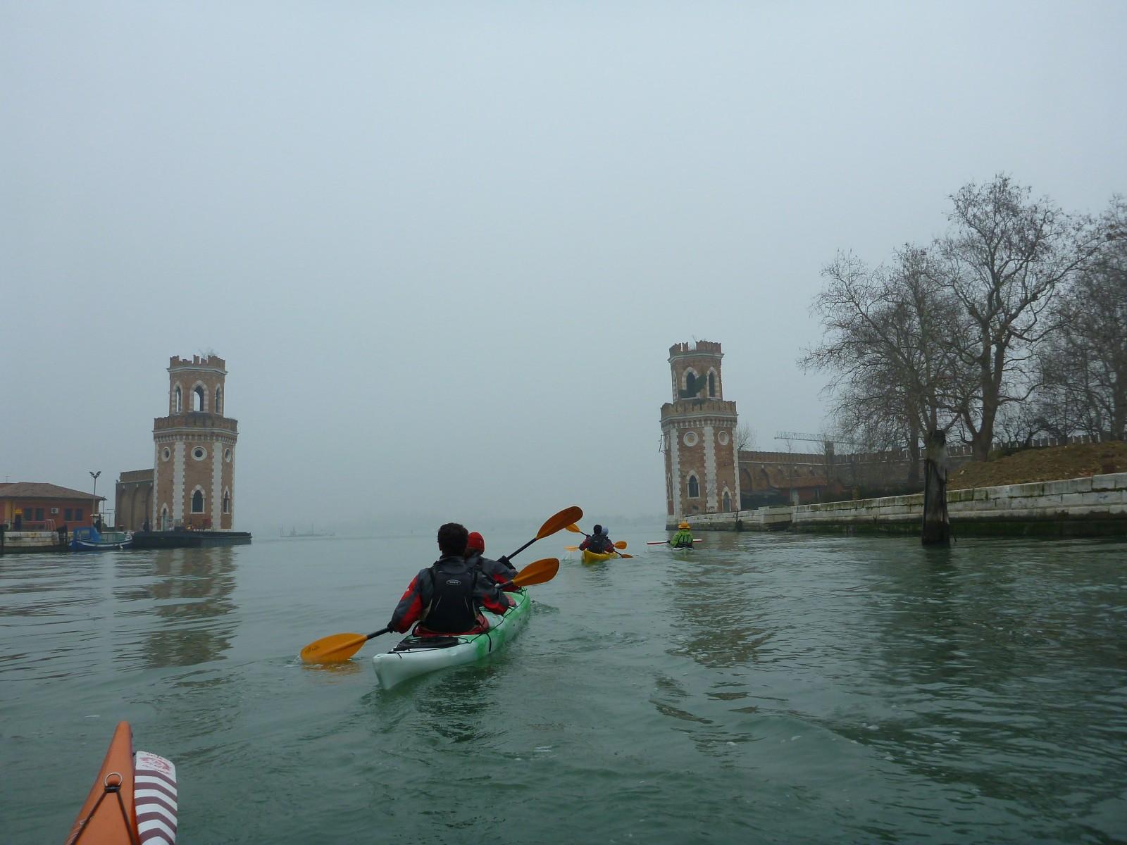 Bacino San Marco on a foggy day