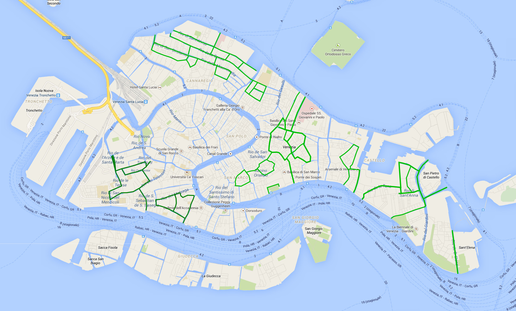 Kayaking ban in Venice – dialogue with the city administration