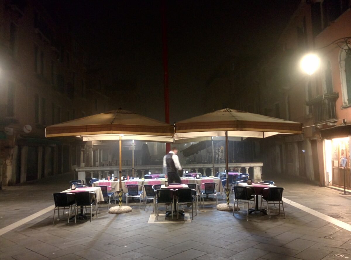 Foggy days in Venice