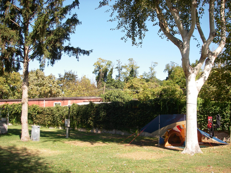 Camping San Nicolò, my tent and tarp