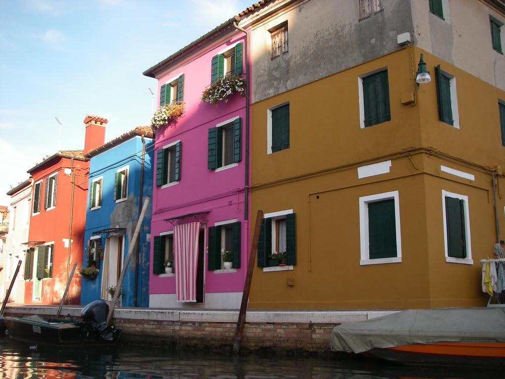 More Burano colours