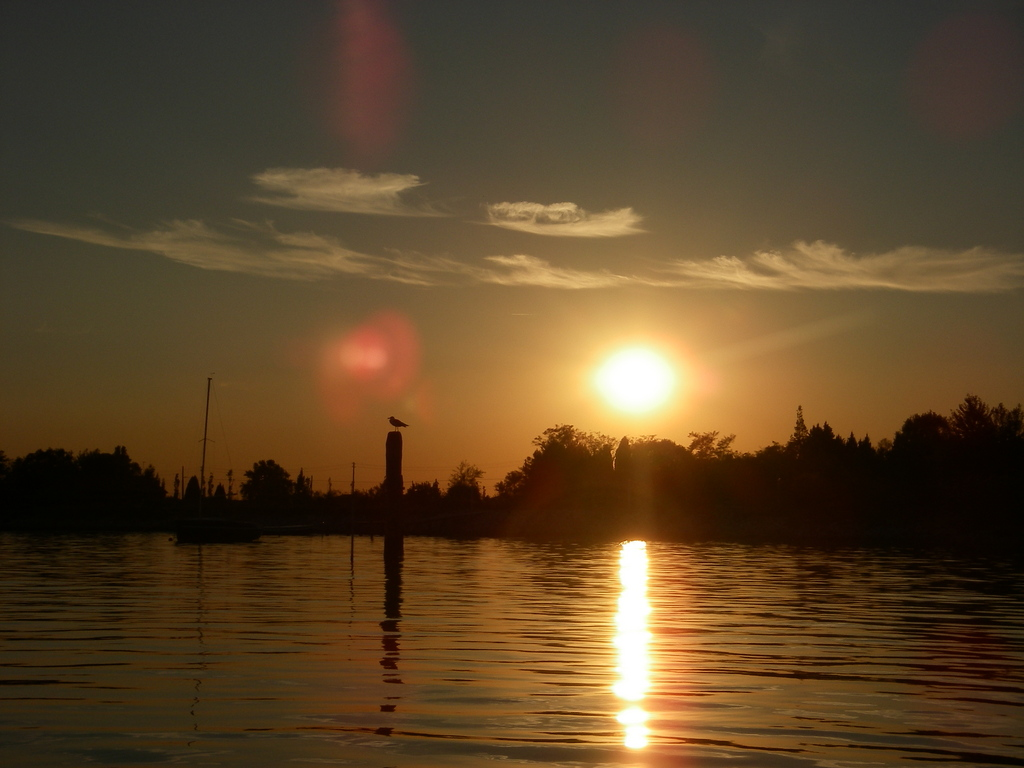 More lagoon sunset
