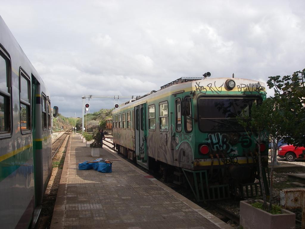 Train from Alghero to Sassari