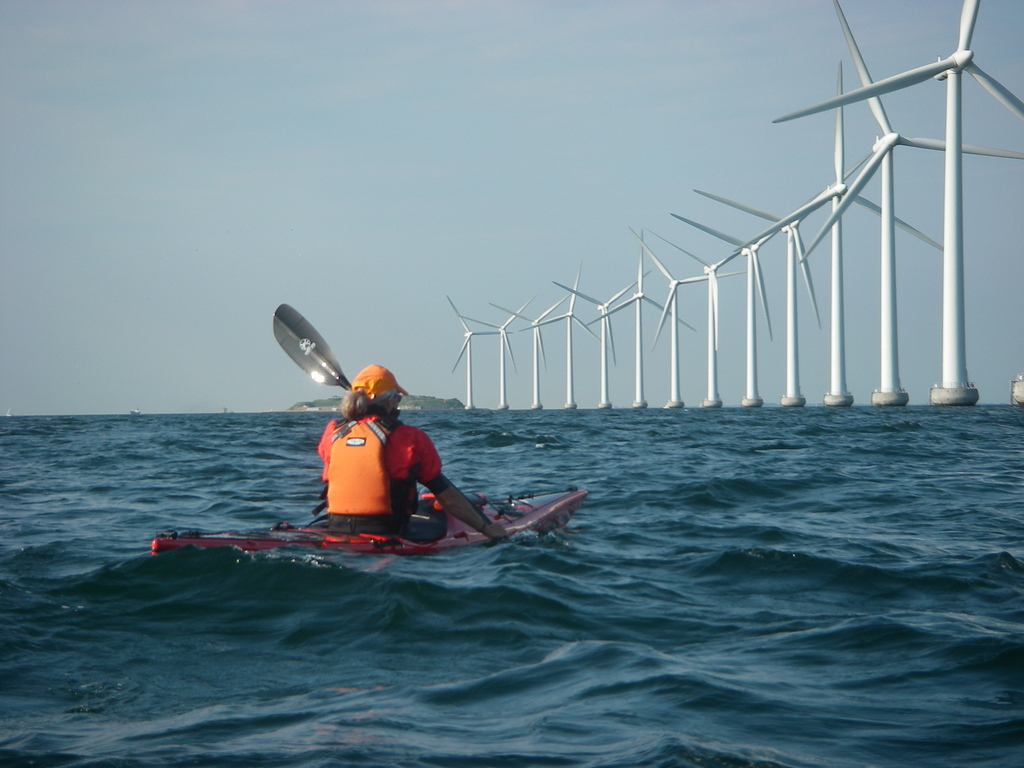 Wind turbines near Copenhagen