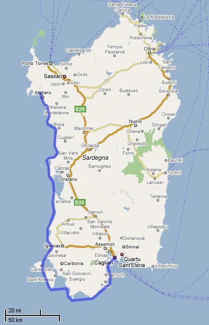 Sardinia 2008