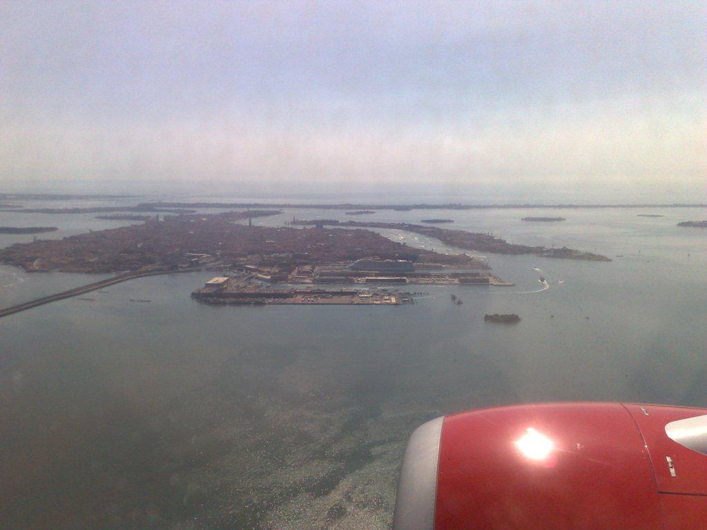 Vencie seen from a Sterling flight