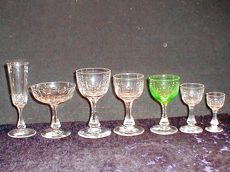 Holmegaard Derby glass 7 størrelser