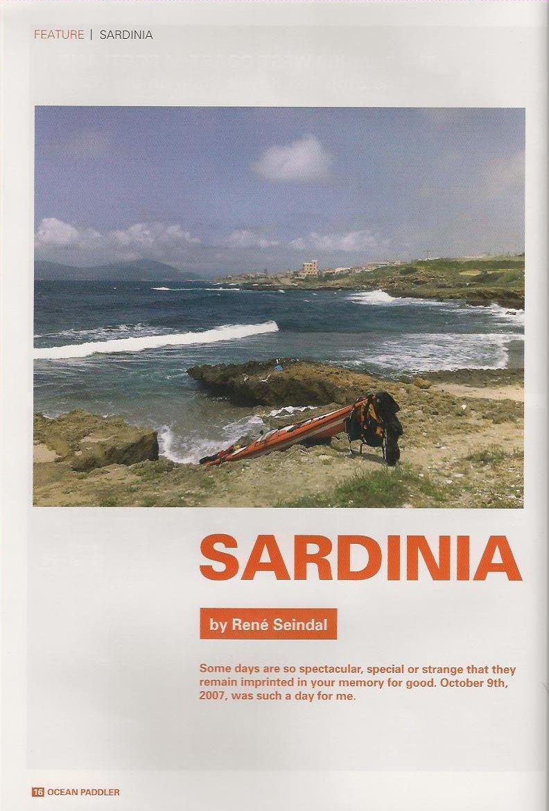 Ocean Paddler - Sardinia