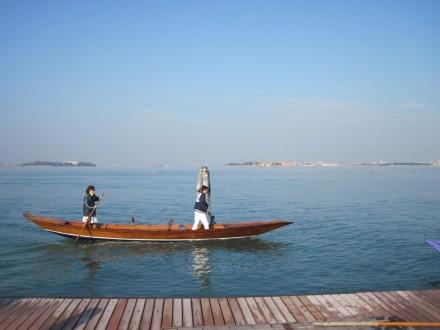 Diadora end of season - Getting the hang of the boat