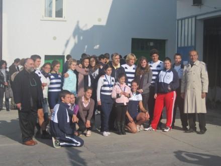 Diadora end of season - The entire youth lineup of the Diadora