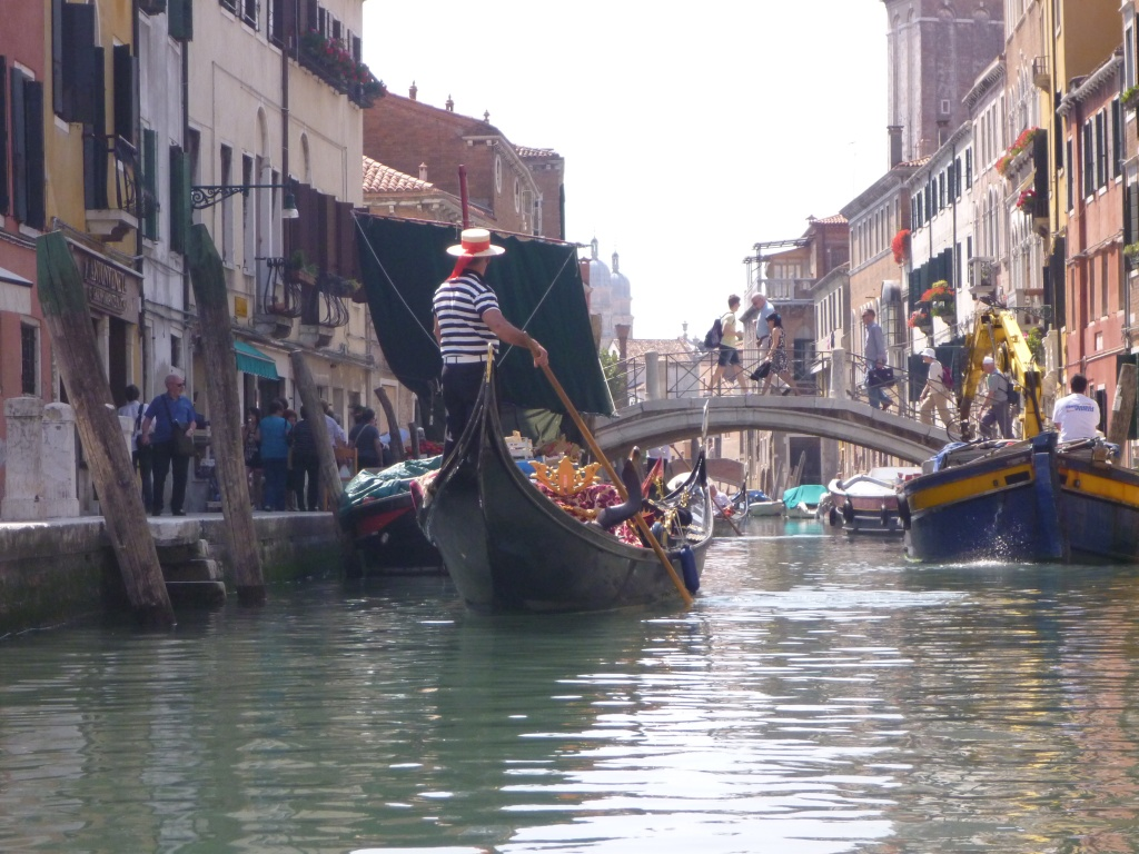 Gondola, Topo, Greengrocer - working boats
