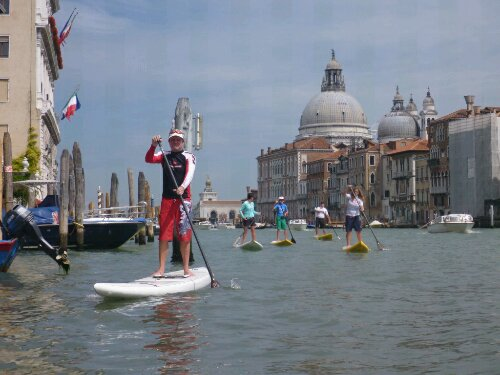 SUP in Venice