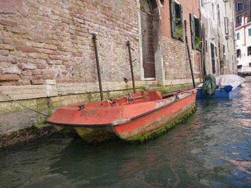 The Ugliest Boat in Venice
