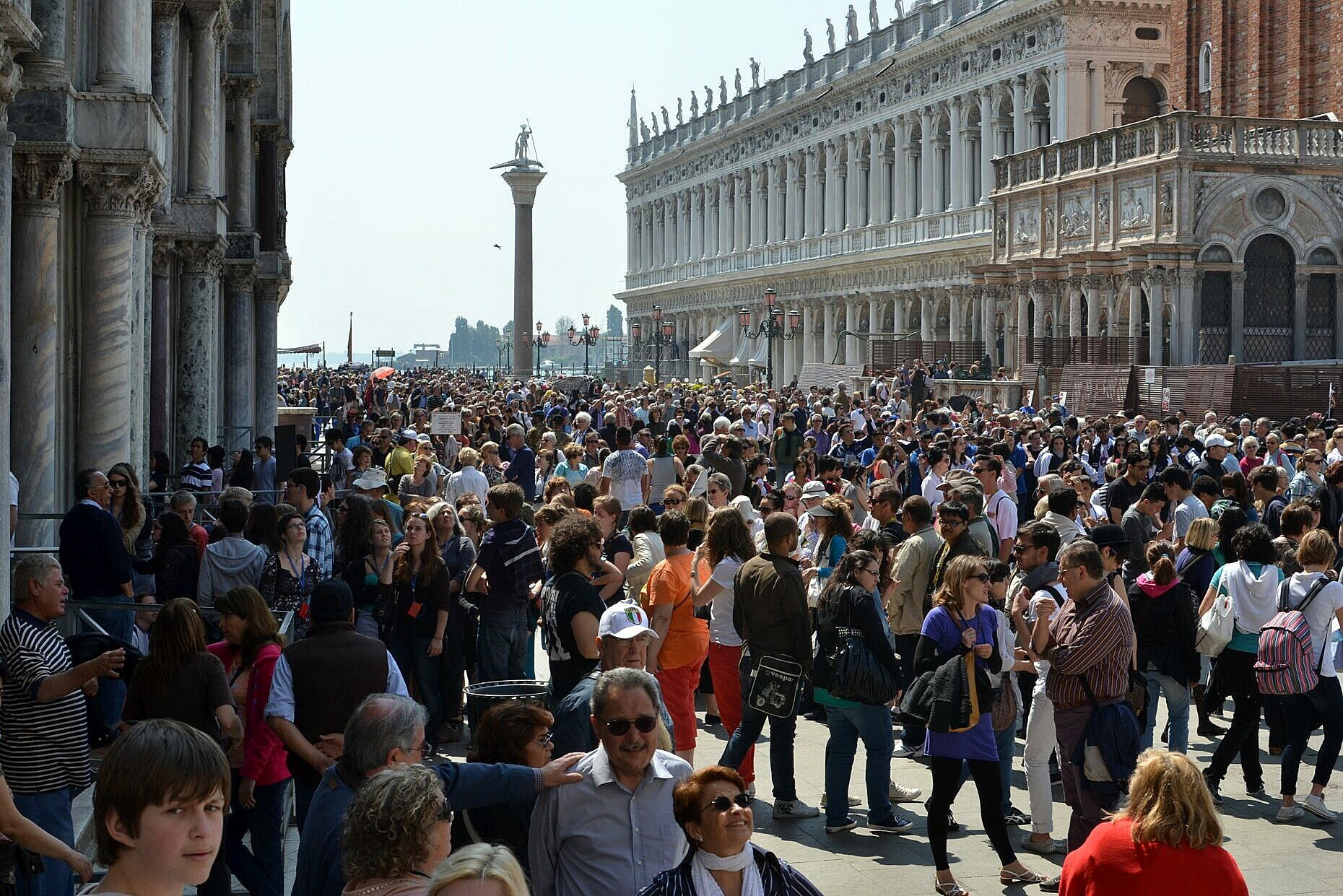 Why I normally avoid Piazza San Marco if I can in any way